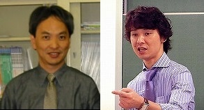 貝淵弘三教授(左)と永井拓准教授