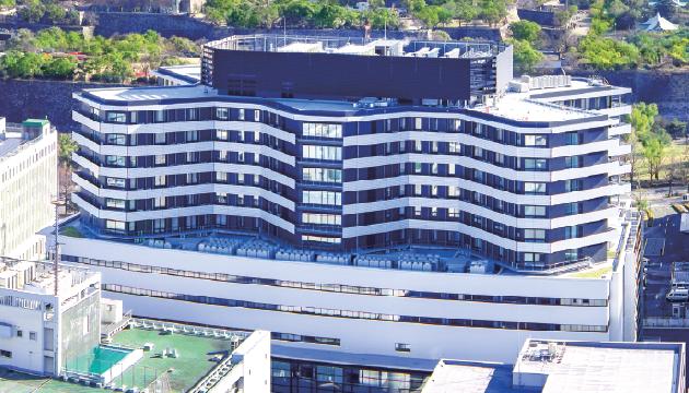 大阪国際がんセンター(旧大阪府立成人病センター)