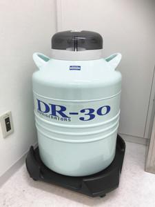 凍結させた卵巣を保管するタンク(三重大病院